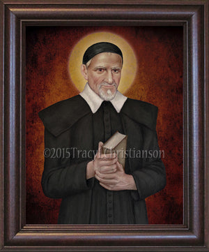 St. Vincent de Paul Framed