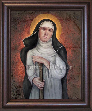Bl. Margaret of Castello Framed