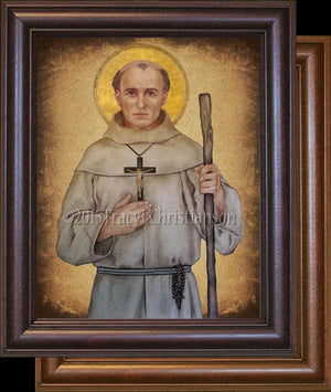 St. Junipero Serra Framed