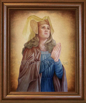 St. Emma of Gurk Framed