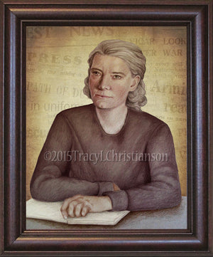 Dorothy Day Framed