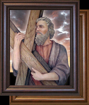 St. Andrew the Apostle Framed