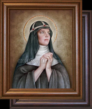 St. Bridget of Sweden Framed