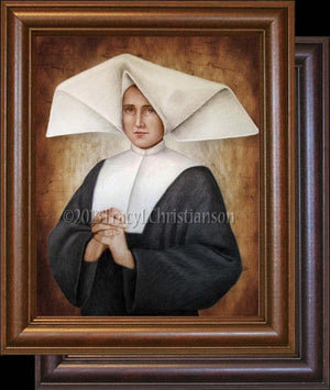 St. Catherine Laboure Framed