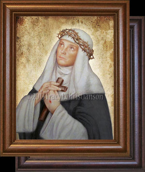 St. Catherine of Siena Framed