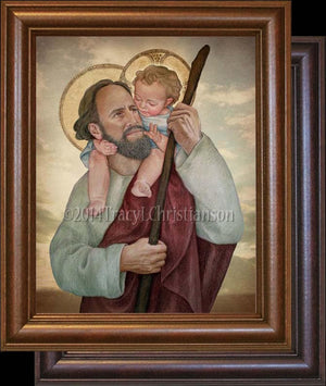 St. Christopher Framed