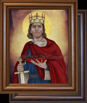 St. Louis IX, King of France Framed