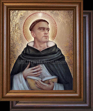 St. Dominic Framed