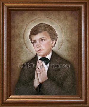 St. Dominic Savio Framed