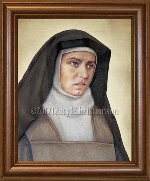 St. Edith Stein (St. Teresa Benedicta of the Cross) Framed