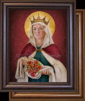 St. Elizabeth of Hungary Framed