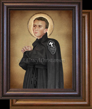 St. Gabriel of Our Lady of Sorrows Framed