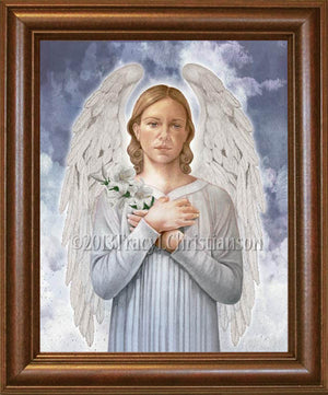 St. Gabriel the Archangel Framed