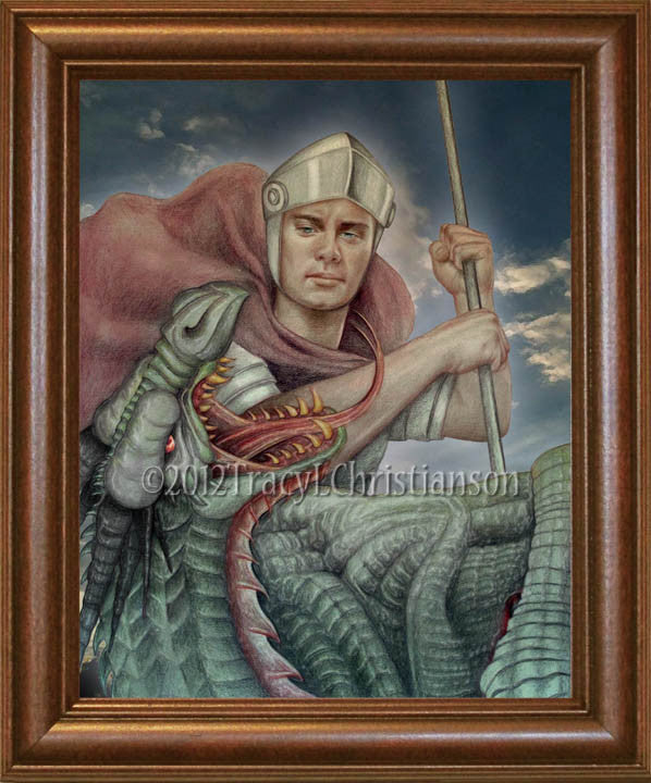St. George Framed