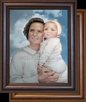 St. Gianna Molla Framed