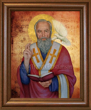 St. Gregory the Great Framed