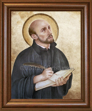 St. Ignatius of Loyola Framed