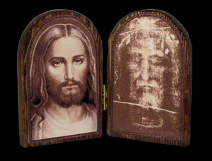 Face of Christ Diptych