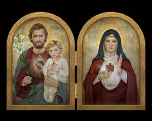 Holy Family Diptych