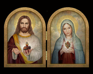 Sacred Hearts (A) Diptych