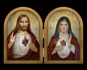 Sacred Hearts (B) Diptych