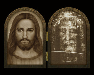 Face of Christ / Shroud Diptych