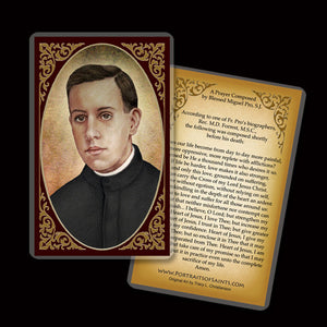 Bl. Miguel Pro Holy Card