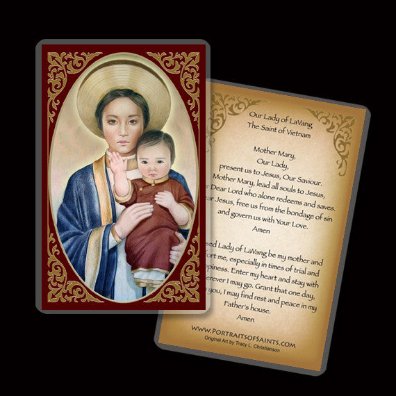 Our Lady of LaVang Holy Card