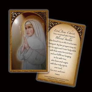 Bl. Imelda Lambertini Holy Card