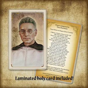 Bl. Titus Brandsma Plaque & Holy Card Gift Set