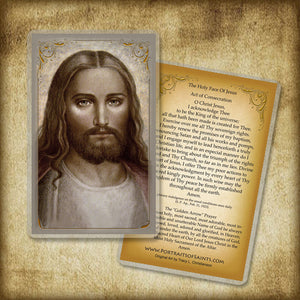 Face of Christ Holy Card