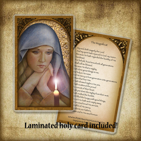 The First Advent Plaque & Holy Card Gift Set