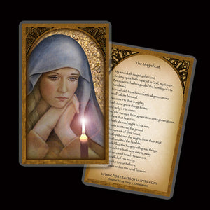 The First Advent Holy Card