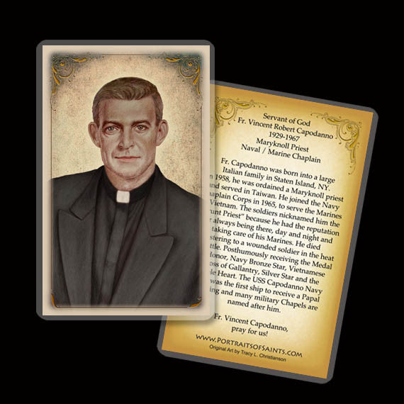 Fr. Vincent Capodanno Holy Card