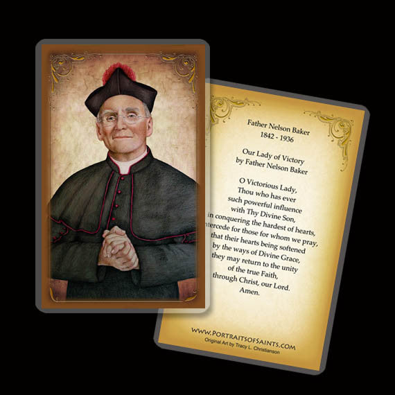 Fr. Nelson Baker Holy Card