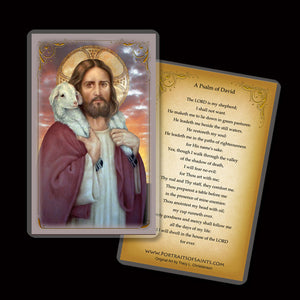 The Good Shepherd Holy Card