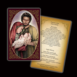 Holy Family (B) Holy Card