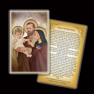 Holy Family (F) Holy Card