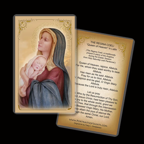 Madonna & Child (E) Holy Card