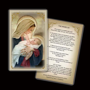 Madonna & Child (F) Holy Card