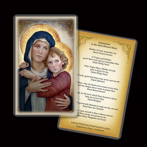 Madonna & Child (M) Holy Card
