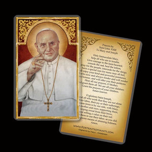 Pope St. John XXIII Holy Card