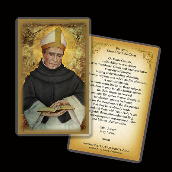St. Albert the Great Holy Card