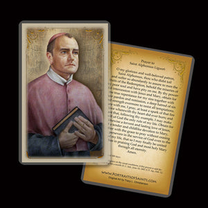 St. Alphonsus Liguori Holy Card