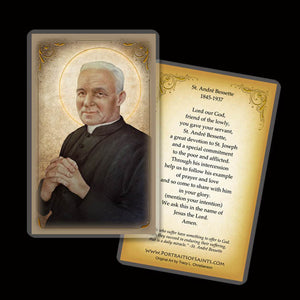 St. Andre Bessette Holy Card