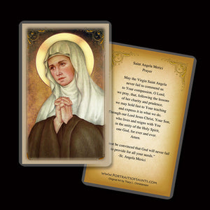 St. Angela Merici Holy Card