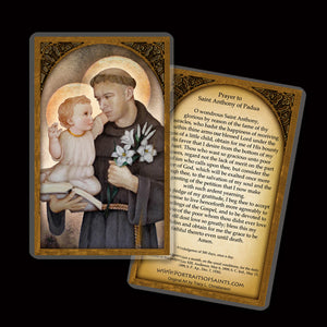 St. Anthony of Padua Holy Card