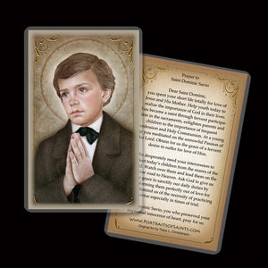 St. Dominic Savio Holy Card
