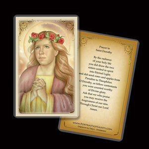 St. Dorothy Holy Card