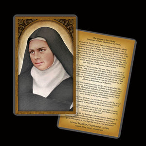 St. Elizabeth of the Trinity Holy Card